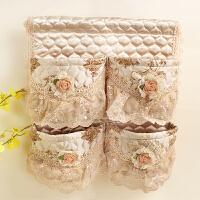 墙上布艺挂袋 卧室客厅杂物整理袋高档加厚门后收纳储物挂袋 露西系列