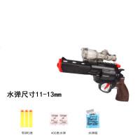 儿童玩具枪可发射软弹吸水晶*男孩吸盘软蛋塑料玩具儿童节礼物 炫黑战轮 2万水弹 送1千水弹+5软弹+贴纸