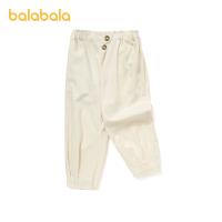 【五一出游季 4件4折:68】巴拉巴拉女童牛仔裤2021新款夏装儿童裤子小童宝宝童装时尚休闲裤