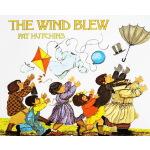 英文原版绘本 The Wind Blew 风吹起来 Pat Hutchins 格林威奖 英语训练图画故事书