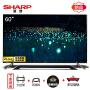 夏普(SHARP) LCD-60SU870A 60英寸超薄4K高清网络液晶智能平板电视机