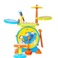 儿童架子鼓玩具3-6岁爵士鼓敲打乐器初学者仿真电子琴宝宝鼓