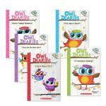 【5册】 猫头鹰日记英文原版 Owl Diaries 盒装桥梁章节书 Scholastic Branches 学乐大树