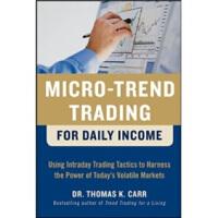 【正版直发】Micro-Trend Trading for Daily Ine 日交易量变化 Thomas K. Ca