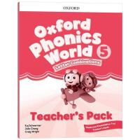 牛津自然拼读教材教师书5 英文原版 Oxford Phonics World Level 5 Teacher's Pa