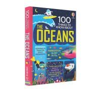 预售 关于海洋的100件事 Usborne大发现系列 100 Things to Know About the Ocea