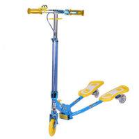 小丽明 儿童蛙式滑板车铝合金三轮滑板车 XLM-904