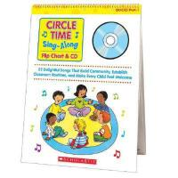 【预订】Circle Time Sing-Along: Flip Chart & CD: 25