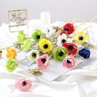 仿真花束客厅欧式餐桌摆放花卉茶几美式小清新卧室假花摆件