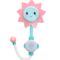 婴儿童玩水水龙头喷水向日葵花洒女孩洗澡花洒水上戏水玩具