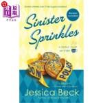 【中商海外直订】Sinister Sprinkles: A Donut Shop Mystery