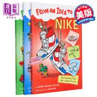 【中商原版】点子系列3册 Lowey Bundy Sichol 儿童科普读物 From an Idea to 亲子英语