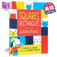 【中商原版】多样的图形 Squares, Rectangles, and other Quadrilaterals 亲子