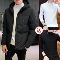 棉衣男韩版修身短款冬装学生加厚棉袄男士2018新款冬季外套潮
