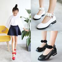 童鞋女童皮鞋公主鞋儿童鞋子单鞋春秋季新款小学生高跟鞋