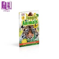 【中商原版】丛林动物 DK Readers Level1 Jungle AnImals DK小读本1级 儿童科普分级读物