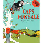 Caps for Sale [Board Book] 卖帽子(享誉75年的美国经典童书,卡板书) ISBN978006