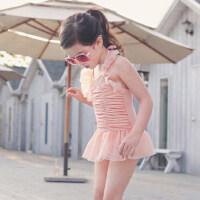儿童泳衣女孩连体公主裙可爱女宝宝中大童女童小童游泳衣套装