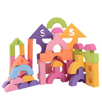 EVA泡沫积木特大立体造型积木3-6周岁宝宝益智玩具