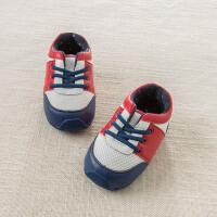 [2件3折价:54]戴维贝拉春季新款婴儿宝宝羊皮革步前鞋DB6734
