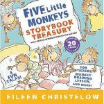 【现货】英文原版 五只小猴子5本合1 精装 Five Little Monkeys Storybook Treasur