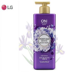 LG ONTHEBODY香水沐浴露  梦幻系列 紫色500ml/瓶