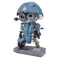 3D立体金属拼图变形金刚5机器人拼装模型玩具