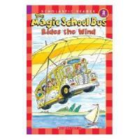 英文原版Magic School Bus Science Reader: Rides The Wind神奇校车科学读物