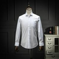 国内单 剪标春装工装白衬衫商务休闲直筒上班职业装长袖衬衣简约