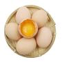 农谣 新鲜苏北虫草土鸡蛋 40枚 约2000g