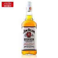 【1919酒类直供】洋酒/白占边威士忌 白沾边 JIM BEAM 750ML 美国波本威士忌