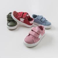 戴维贝拉童装春季新款男女童鞋子宝宝休闲板鞋DB9728