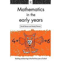 【预订】Mathematics in the Early Years