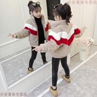 女童毛毛衣外套2018新款韩版5儿童加厚冬装7中大童洋气时髦皮草