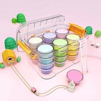 轻粘土24色36色彩泥套装儿童玩具手工制作diy橡皮泥水晶泥