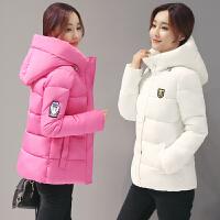韩国秋冬装薄款外套羽绒棉袄面包服女中短款宽松大码棉衣学院风潮