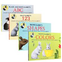【全店300减100】Alan Baker小兔子系列4本 吴敏兰推荐英文原版幼儿启蒙认知童书