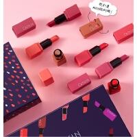 口红套装组合装多色盒一礼盒梅子色迷你口红小样