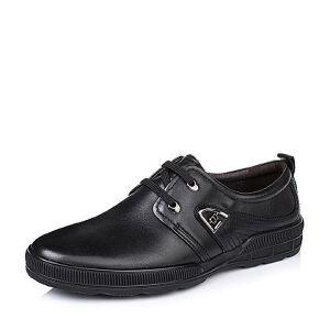 BASTO/百思图专柜同款牛皮男单鞋AQW01CM5