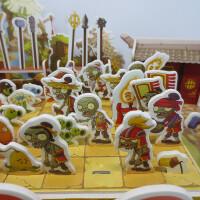 植物大战僵尸儿童玩具3D立体拼图益智纸质模型拼插diy小男孩礼物
