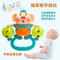 婴幼儿玩具手摇铃6-12女孩益智宝宝手抓小孩男孩摇铃婴儿0-1岁