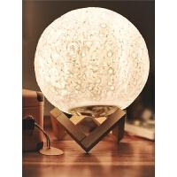 月球灯3d月亮灯遥控小夜灯创意台灯卧室床头灯