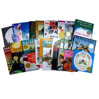 【全店900减300】凯迪克金奖绘本23本套装 儿童图书馆协会推荐儿童英文原版图画书 Polar Express Mak