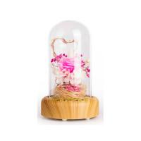 玻璃罩干花花束生日礼物玫瑰蓝牙音响情蓝色妖姬情人节惊喜的创意礼物节日礼品情人节礼物