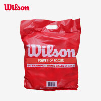 Wilson威尔胜 稳定耐用 专业训练网球 袋装网球 60个装