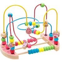 绕珠串珠儿童玩具一岁宝宝6-12个月婴儿1-2-3周岁男女孩早教
