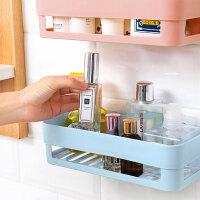 卫生间置物架壁挂免钉浴室置物架吸壁式厕所收纳吸盘洗手间免打孔