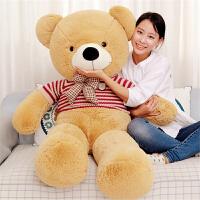可爱毛衣熊公仔熊毛绒玩具大号抱抱熊娃娃玩偶生日礼物女
