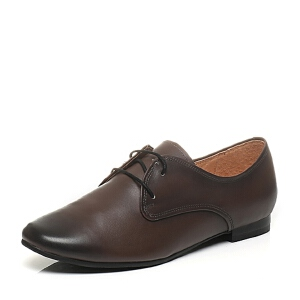 BATA/拔佳春季专柜同款牛皮女休闲鞋AI420AM6