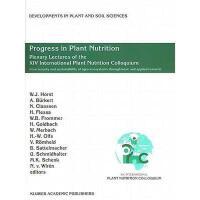 【预订】Progress in Plant Nutrition: Plenary Lectures of the